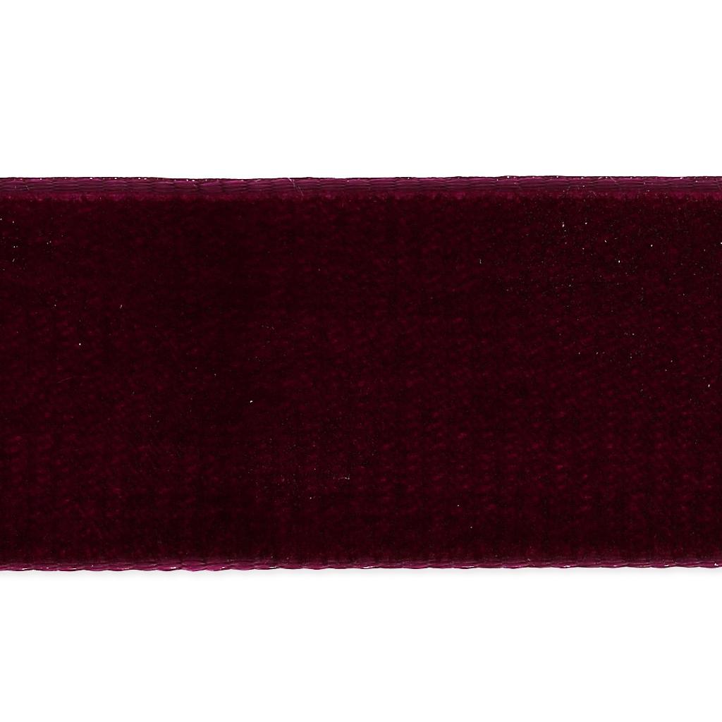 Per Metre 22mm Purple Velvet