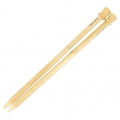 Knitting needles 15mm bamboo x40 cm