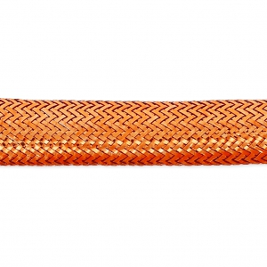 Metallized Lurex Cord 5 mm Coppery x1m