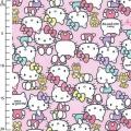 Childish Fabric by Sanrio Kiyohara - Hello Kitty Pause Pink x10cm 26b1534f8