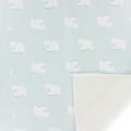 Childish Fabric by Warmly Kiyohara - Sweat Bear Pattern Mint White x10cm 2167e6082