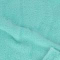Plush fleese Fabric - Light Turquoise x10cm 86b807b22