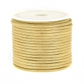 polyester Cord Snake Skin imitation 2 mm Beige x10 m