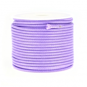 Polyester Cord Snake Skin imitation 2 mm Lilac x10 m