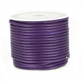 Cordon polyester imitation serpent type snake cord 2 mm Purple x10 m