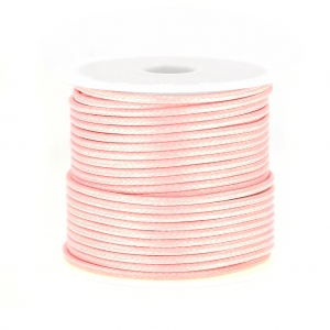 Polyester Cord Snake Skin imitation 1.5mm Light Rose x10 m