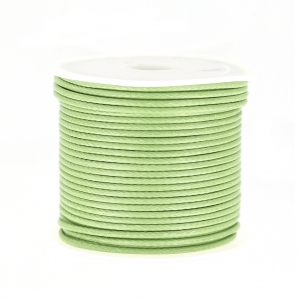 Polyester Cord Snake Skin imitation 1.5mm Lime x10 m