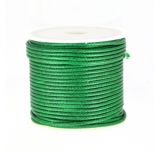 Polyester Cord Snake Skin imitation 1.5mm Green x10 m