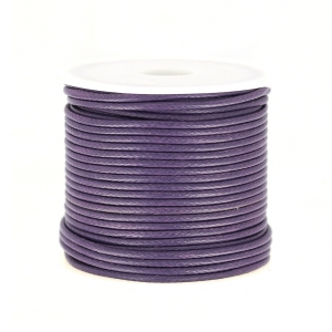 Polyester Cord Snake Skin imitation 1.5mm Purple x10 m