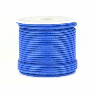 Polyester Cord Snake Skin imitation 1.5mm Blue x10 m