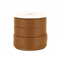 Polyester Cord Snake Skin imitation 1mm Brown x10 m