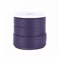 Polyester Cord Snake Skin imitation 1mm Purple x10 m