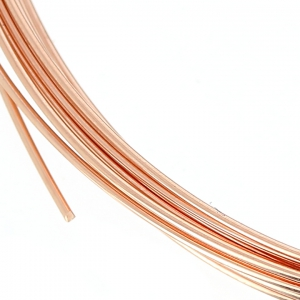 Pink Gold filled 14K 0.81mm Flexible thread x 1 m