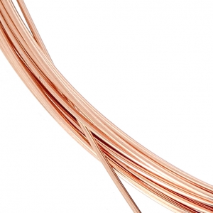 Pink Gold filled 14K 0.64mm Flexible thread x 1 m