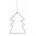 Metal decoration for Christmas Tree by House Doctor 20cm Fir