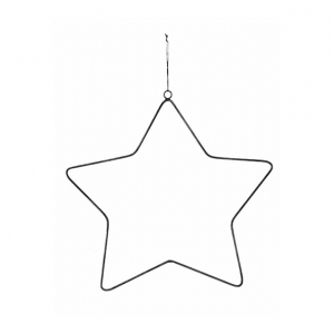 Metal decoration for Christmas Tree by House Doctor 20cm Star