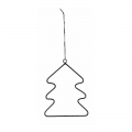 Metal decoration for Christmas Tree by House Doctor 12 cm Fir