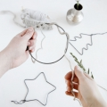 Metal decoration for Christmas Tree by House Doctor 12 cm Star