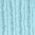Minky  - Chenille Soft Cuddle Solid Light Aqua x10cm