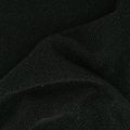 Shimmering Jersey Fabric - Black glitter x10cm