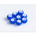 Czech Glass Cornelian Beads Star by Preciosa 6/0 Cobalt x20g