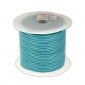 Leather cord 2mm Green Turquoise x 25m