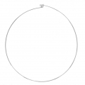 Choker 1.2mm with ball end 12.5cm 925 Sterling Silver