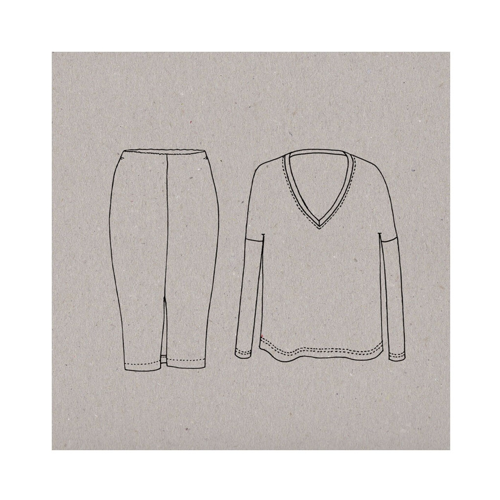 Sewing Pattern Aime Comme Marie - Aime comme Maddy - Tee-shirt and ...