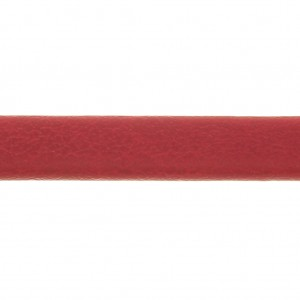 Leather lace double 5mm Red x1m