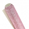 Glitter Fabric to sew or glue 70x45 cm Pink