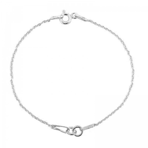 Bracelet for Spacer 18 cm Sterling Silver 925 x1
