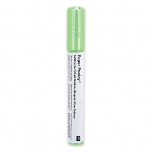 Paper Chalk Marker Poetry 3mm for slate and glass Green