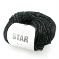 Wool by Fashion Star Black/Silver x50g