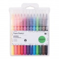 Set of 12 felt-tip pens Colouring activity 1-4 mm Multicoloured