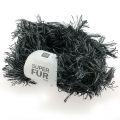 Super Fur Wool by Fashion Duo Grey/Black x50g