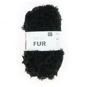 Fur Wool by Fashion Black x50g