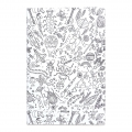Set by Paper Poetry Notebook 145x210 mm Colouring activity Insects x2