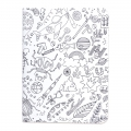 Set by Paper Poetry Notebook 105x140mm Colouring activity Insects x2