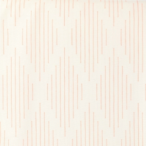 Nordic Cotton Fabric - Scandinavian Style - Dash in White Harlequin x10cm