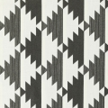 Nordic Cotton Fabric - Scandinavian Style - Mirrored in Carbon x10cm