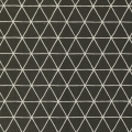 Nordic Cotton Fabric - Scandinavian Style - Grid in Carbon x10cm