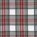 Cotton Mammoth Checkered Flannel Fabric - Country Plaid x10cm