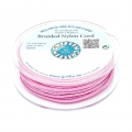 Griffin European Braided Nylon Thread 0.5 mm Dark Pink x25m