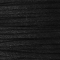 European Griffin Satin rat's tail 1 mm Black x25m