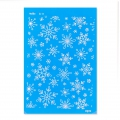 Silk Screen Moiko 74x105 mm - Snowflakes Pattern 8.11