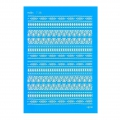 Silk Screen Moiko 74x105 mm - Aztec Patterns 7.38