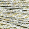 Twisted Cotton Cord 2.5 mm Beige/White/Grey x 1 m