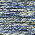Cotton Twisted Cord 2.5 mm Beige/Blue/White x 1 m
