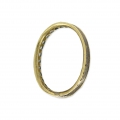 Oval Mounting Ring by Eternity Design Frame 20x16 mm Bronze x1