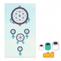 Dreamcatcher Kit with Hama MIDI 5 mm beads for Children